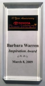 Barbara-Warren-Inspiration-Award